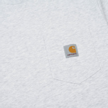 Мужской лонгслив Carhartt WIP L/S Pocket Ash Heather фото- 2