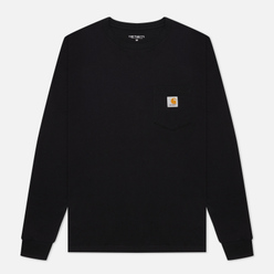 Мужской лонгслив Carhartt WIP L/S Pocket Black