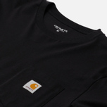 Мужской лонгслив Carhartt WIP L/S Pocket Black фото- 2