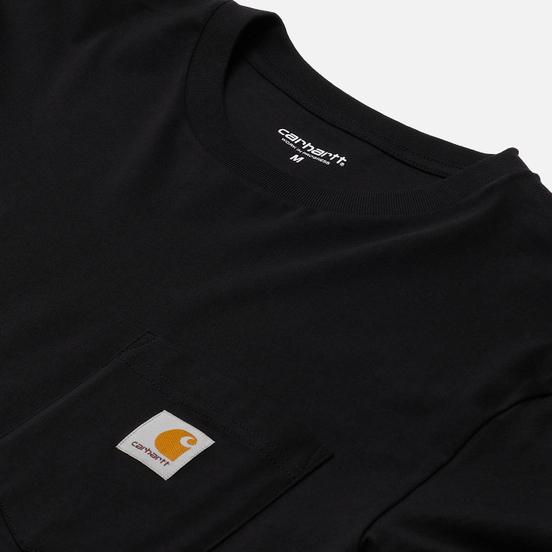 Мужской лонгслив Carhartt WIP L/S Pocket Black