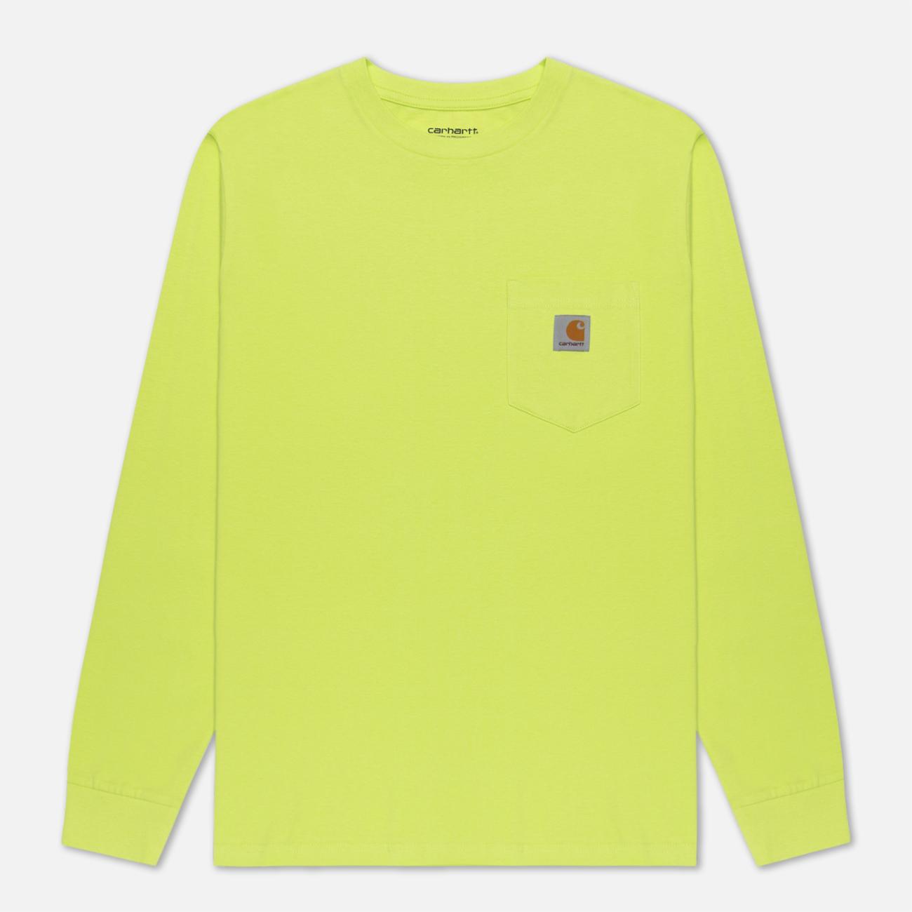 Мужской лонгслив Carhartt WIP L/S Pocket Lime