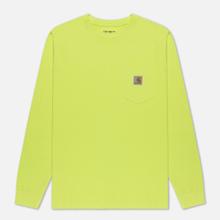 Мужской лонгслив Carhartt WIP L/S Pocket Lime фото- 0
