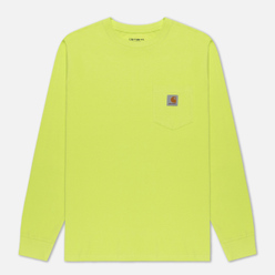 Мужской лонгслив Carhartt WIP L/S Pocket Lime