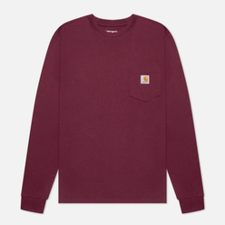 Мужской лонгслив Carhartt WIP L/S Pocket Shiraz