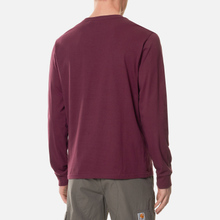 Мужской лонгслив Carhartt WIP L/S Pocket Shiraz фото- 3