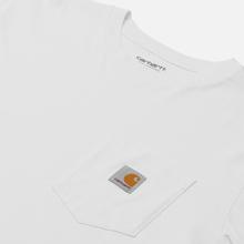 Мужской лонгслив Carhartt WIP L/S Pocket White фото- 1