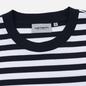 Мужской лонгслив Carhartt WIP L/S Scotty Pocket Stripe Dark Navy/White фото - 1