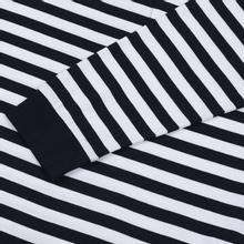 Мужской лонгслив Carhartt WIP L/S Scotty Pocket Stripe Dark Navy/White фото- 3