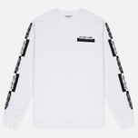 Carhartt WIP Paperwork LS Men's Longsleeve White/Black photo- 0