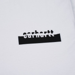 Carhartt WIP Paperwork LS Men's Longsleeve White/Black photo- 2