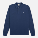 Мужской лонгслив Carhartt WIP Patch Polo Blue фото- 0