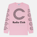 Мужской лонгслив Carhartt WIP x P.A.M. Radio Club Roma Vegas Pink фото- 0
