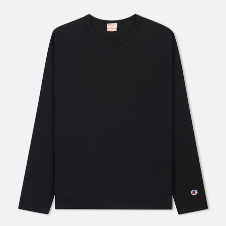 Мужской лонгслив Champion Reverse Weave Classic Crew Neck Black