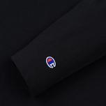 Мужской лонгслив Champion Reverse Weave Oversized Script Logo Black фото- 2