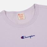 Мужской лонгслив Champion Reverse Weave Oversized Script Logo Lavender фото- 1