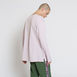 Мужской лонгслив Champion Reverse Weave Oversized Script Logo Lavender фото- 5