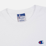 Мужской лонгслив Champion Reverse Weave x Beams Crew Neck LS White фото- 1