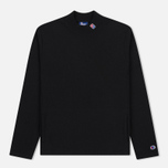 Мужской лонгслив Champion Reverse Weave x Beams High Neck Black фото- 0