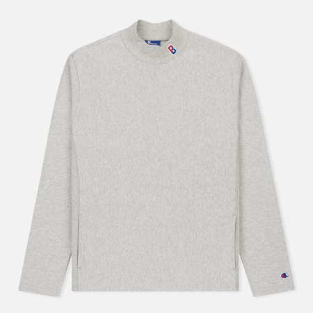 Мужской лонгслив Champion Reverse Weave x Beams High Neck Heather Grey