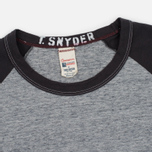 Мужской лонгслив Champion x Todd Snyder Baseball Grey Heather/Dark Grey фото- 1