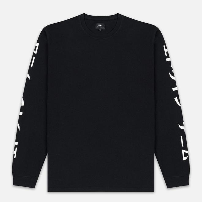 Мужской лонгслив Edwin Gang II Garment Wash Black