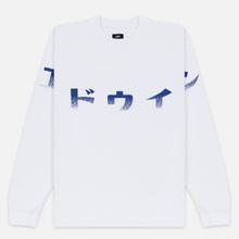 Мужской лонгслив Edwin Imprint Garment Wash White фото- 0