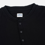Edwin Oarsman Henley LS Men's Longsleeve Black photo- 1