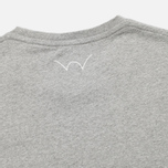 Мужской лонгслив Edwin Pocket Logo Type 1 Grey Marl фото- 4