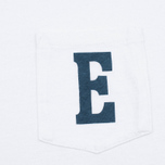 Мужской лонгслив Edwin Pocket Logo Type 1 White фото- 3