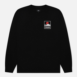Мужской лонгслив Edwin Sunset On Mount Fuji Black Garment Washed