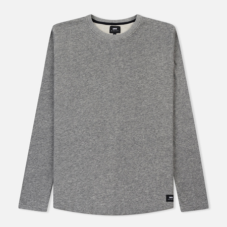 Мужской лонгслив Edwin Terry Dark Grey Heather Garment Washed