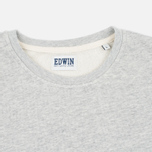 Edwin Terry Men's Longsleeve Grey Marl photo- 1