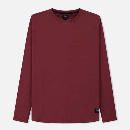 Мужской лонгслив Edwin Terry Oxblood Red Garment Washed