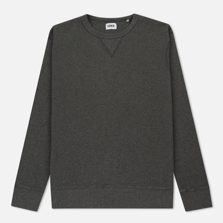 Мужской лонгслив Edwin Waffle Light Knit Dark Grey Heather