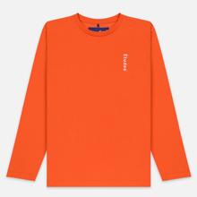 Мужской лонгслив Etudes Wonder Etudes Logo Front/Back Orange фото- 0