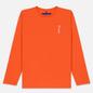 Мужской лонгслив Etudes Wonder Etudes Logo Front/Back Orange фото - 0