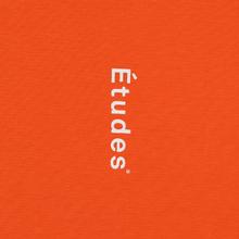 Мужской лонгслив Etudes Wonder Etudes Logo Front/Back Orange фото- 1