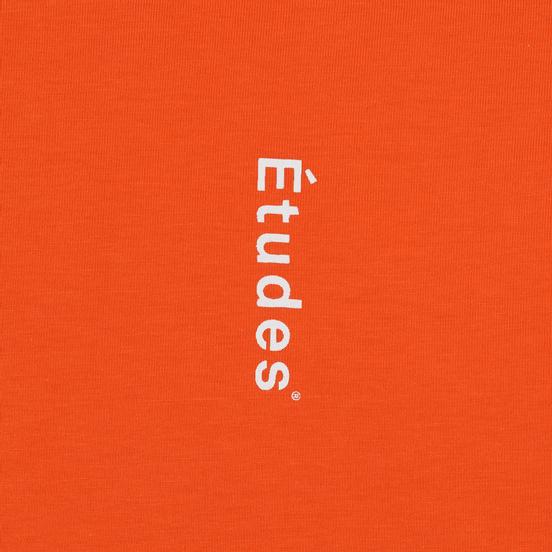 Мужской лонгслив Etudes Wonder Etudes Logo Front/Back Orange