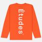 Мужской лонгслив Etudes Wonder Etudes Logo Front/Back Orange фото - 3