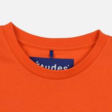 Мужской лонгслив Etudes Wonder Etudes Logo Front/Back Orange фото- 4