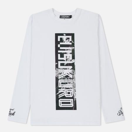 Мужской лонгслив Evisu Evisukuro Box Logo Print White