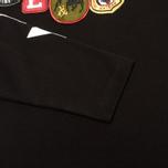 Мужской лонгслив Evisu Fancy Print Badge Black фото- 3