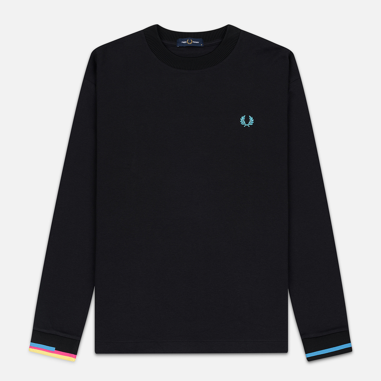 Мужской лонгслив Fred Perry Process Colour Black