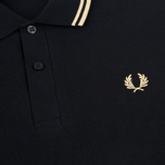 Мужской лонгслив Fred Perry Twin Tipped Black/Champagne фото- 2