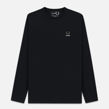 Мужской лонгслив Fred Perry x Raf Simons Back Print Black фото- 0