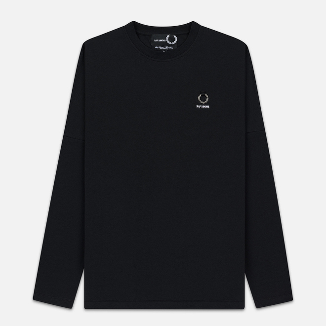 Мужской лонгслив Fred Perry x Raf Simons Back Print Black