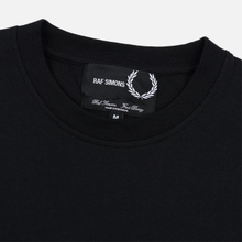 Мужской лонгслив Fred Perry x Raf Simons Back Print Black фото- 1