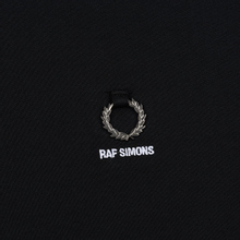 Мужской лонгслив Fred Perry x Raf Simons Back Print Black фото- 2