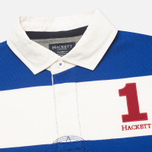 Мужской лонгслив Hackett Block Striped Rugby Blue/White фото- 1
