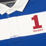 Мужской лонгслив Hackett Block Striped Rugby Blue/White фото- 2